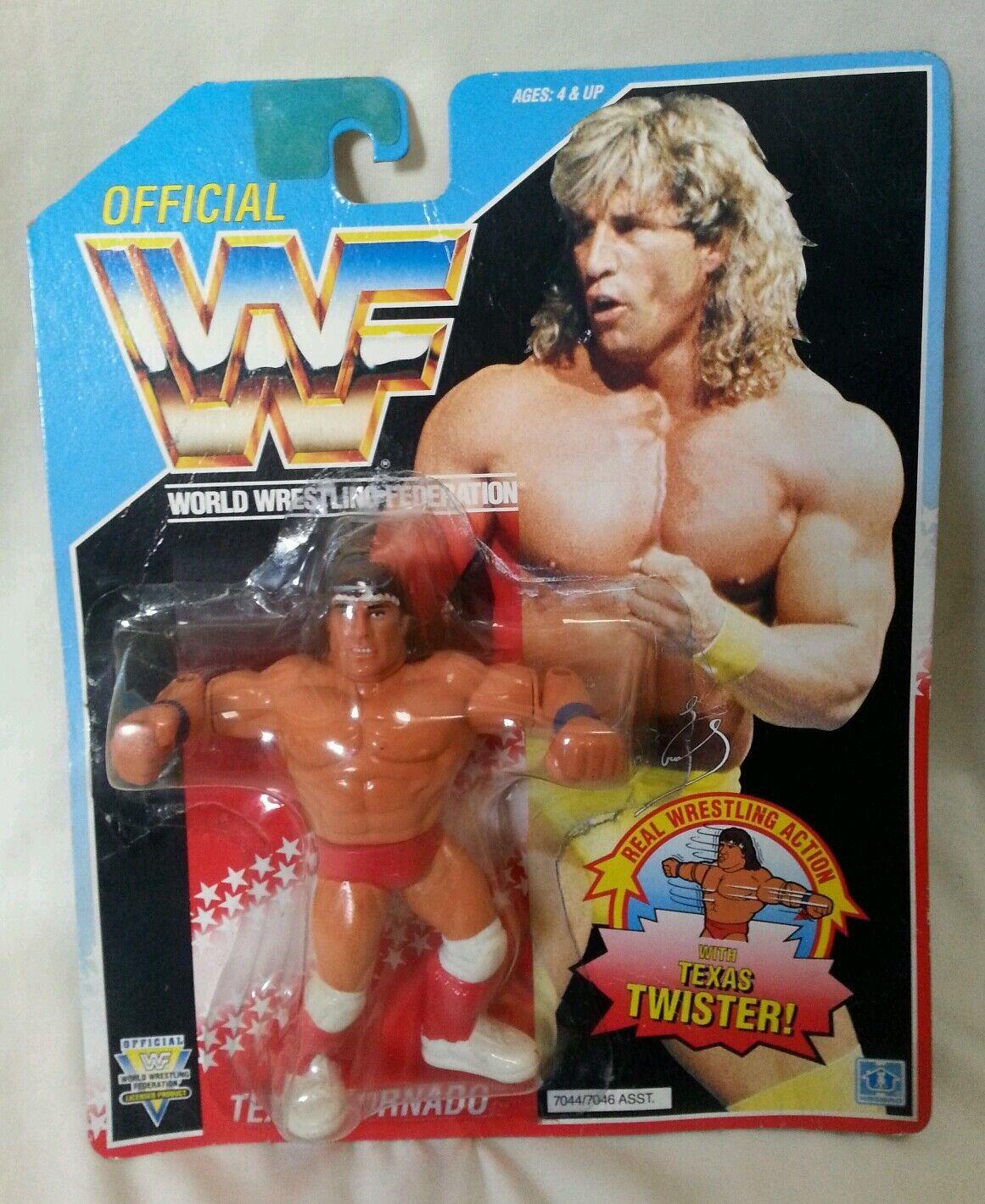 WWF - Wrestler Texas Tornado Series 3 Hasbro Unopened Figure 1992 Retro WWF WWE