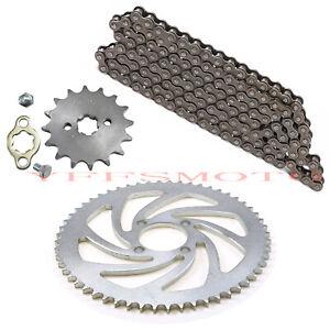 17mm Front Sprocket 428 Drive Chain 16T Plate Taotao Coolster SunL ATV Dirt Bike