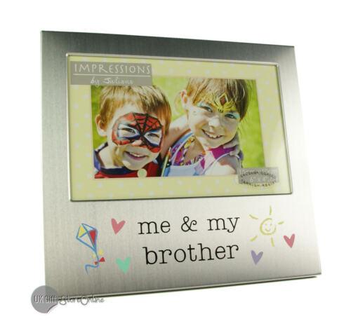 argent brossé FA519BR Me /& mon frère cadre photo
