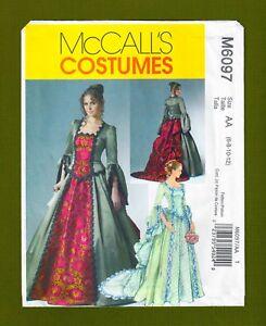 Victorian Era Ball Gown Costume Sewing Patternwwo Train 6 12