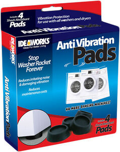 4X-Rubber-Anti-Vibration-Pads-Washer-Dryer-Machines-Reduce-Noise-Walking