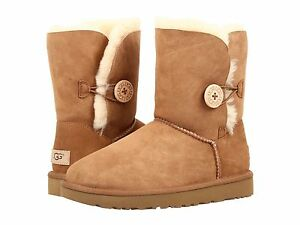 3c23cd83799 Details about UGG Australia Womens Bailey Button Boots 2 II 1016226 in  Chestnut Black Grey NEW