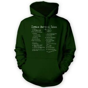 Horror List Rules Zombie Colours Of Movie Hoodie Game x12 Fan Gift qqFCr8wnU