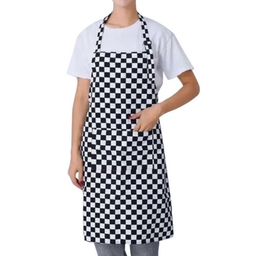 Women Men Pocket Butcher Waiter Chef BBQ Kitchen Cooking Apron Vintage Superman