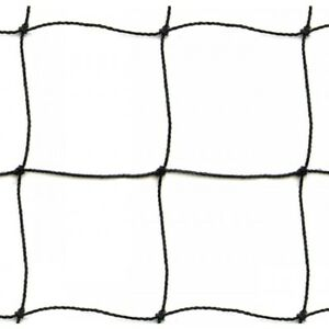 Strong and durable 50mm UV stabilised black netting - Net Size 10mx5m