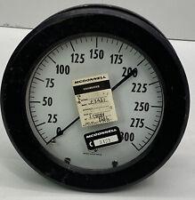 Vintage Ashcroft Amc 4291 Dial Test Gauge 0 300 Psi