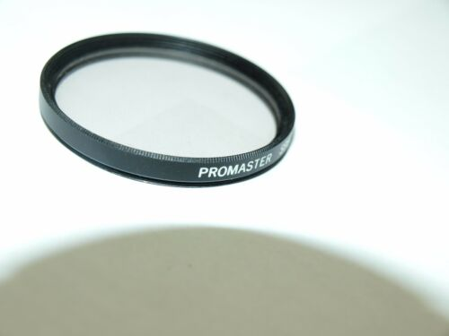 GENUINE PROMASTER 58mm 1A SKY SKYLIGHT OPTICAL GLASS SCREW in FILTER METAL MOUNT