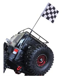 Rc-Body-Scale-Antenna-Flag-For-Hpi-Venture-Tamiya-cc01-Cr01-Traxxas-Trx4-Crawler