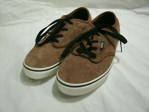 139da07a34 Excellent Vans Boys Youth All Weather Terrain Brown Suede Leather ...