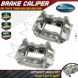 2x Brake Calipers For Toyota Tundra 00 03 Sequoia Casting S13we Front Left Right Ebay