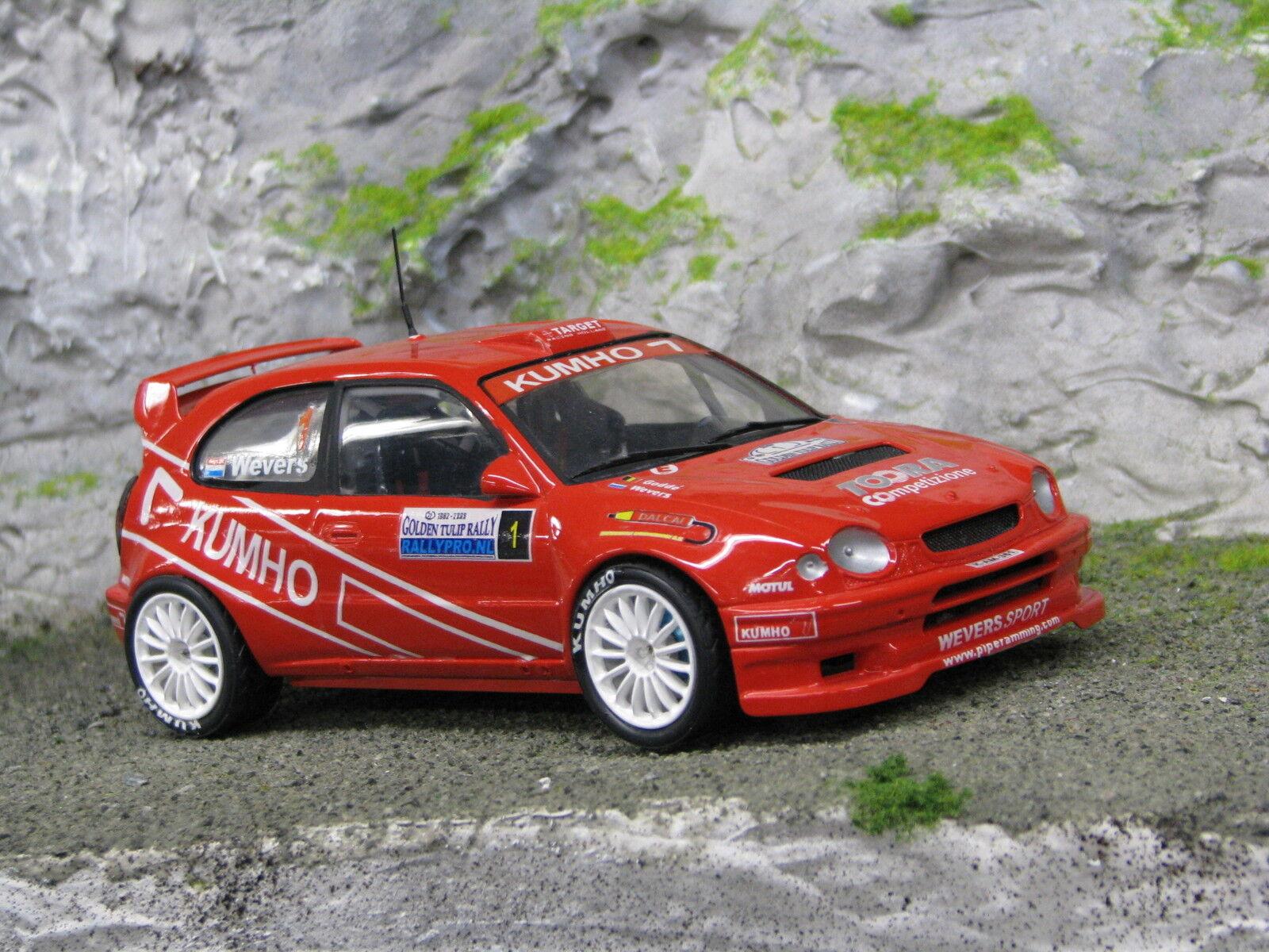 QSP Toyota Corolla WRC 1998 1 24 Wevers   Poel oroen Tulip Rally 2006