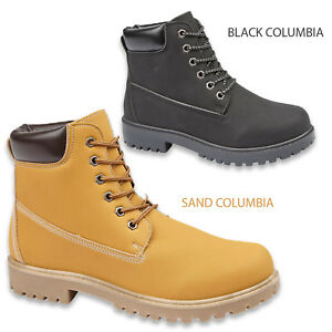 LADIES-ANKLE-BOOTS-WOMENS-LACE-UP-MILITARY-COMBAT-WORKER-CELEB-SHOES-SIZE-UK-3-8