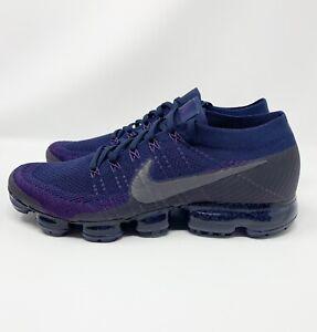 c6a00465e8ff5 Nike Air Vapormax NikeLab QS Flyknit Navy Purple Size 11. 899473-402 ...