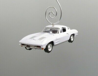 63 Chevrolet Corvette Roadster Wood Ornament Engraved