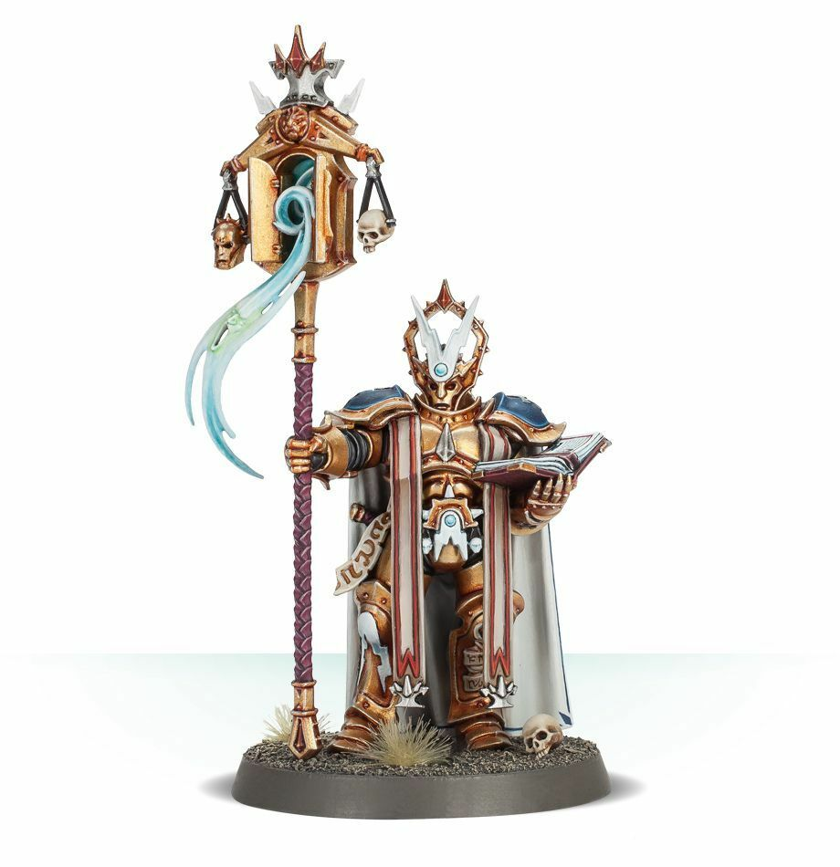 Stormcast Eternals Lord-Exorcist Commission  Superbly Painted Age Of Sigmar  gli ultimi modelli