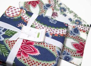 Pottery-Barn-Blanca-Floral-Paisley-Reversible-Full-Queen-Duvet-Cover-New
