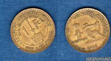 Monaco – 1 Franc Louis II 1924 Poissy 6 (éclair) TB TTB