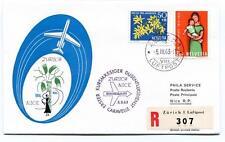 FFC 1963 Caravelle Swissair Special Flight Zurich Nice REGISTERED Helvetia