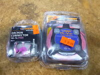 Middy Hollow Pole Elastic 3m 10-14 Pink And Pink Connectors