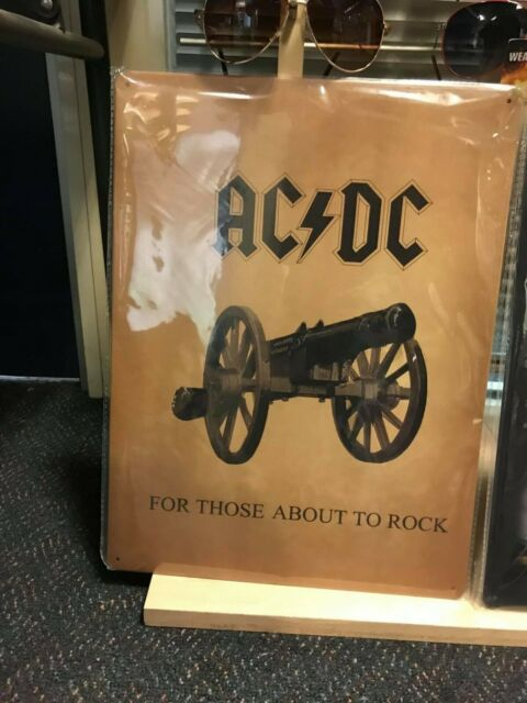 AC/DC Tin Sign 30X40cms