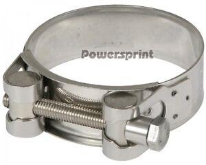 Powersprint Edelstahl Auspuff Spezial Bandschelle 86mm-91mm Gelenkbolzenschelle
