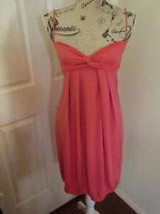 635a355698 Image is loading Designer-KOOKAI-Pink-Singlet-Stretch-Mini-Dress-Size-