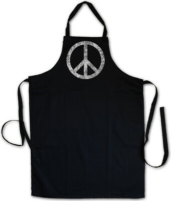 Peace Simbolo Grill Grembiule Koch Grembiule Arcobaleno Gay 60s Hippie Pace Gay-mostra Il Titolo Originale