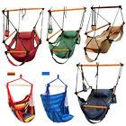 Outdoor Indoor Hammock Hanging Chair Air Deluxe Sky Swing Chair Capacity 250lbs
