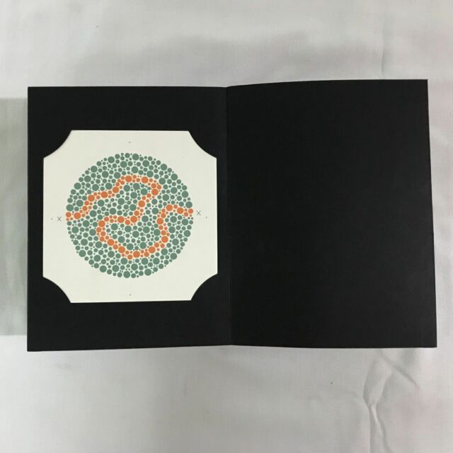 Ishihara Color Deficiency Test Chart Book 14 Plate | eBay