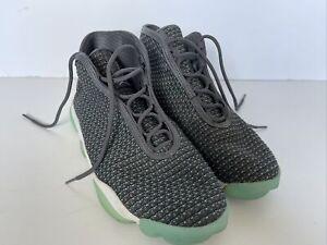 Jordan Horizon gris foncé Hyper Turquoise Uk8.5 E 43 Entrainement Baskets Bottes Haute