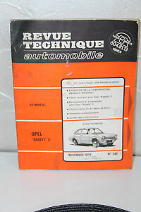 REVISIoN-TECNICA-automovil-1974-opel-kadett-C-N-340