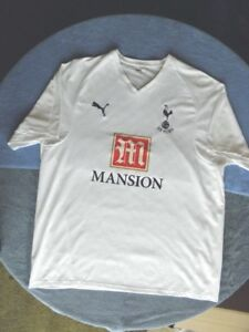 promo code 245f9 4679b Details about Puma Tottenham Hotspur Authentic Jersey 125th anniversary  Mansion 2XL XXL EPL