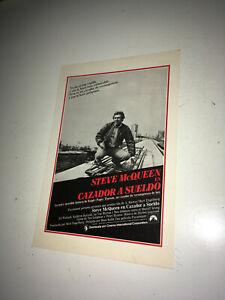 THE-HUNTER-Vintage-Movie-Pressbook-1980-Steve-McQueen-Bounty-Action