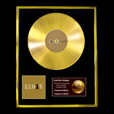 EVIS PRESLEY NUMBER 1s  CD  GOLD DISC FREE P+P!!