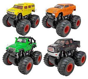 voiture 4x4 monster truck friction 11 5 cm jouet pour enfant pas cher neuf ebay. Black Bedroom Furniture Sets. Home Design Ideas