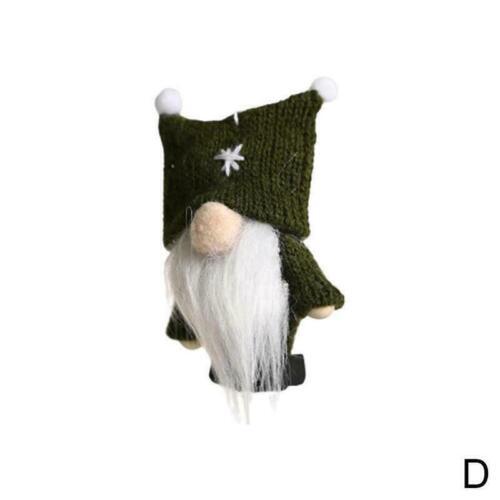 Christmas Mini Doll No Face Gnome Wool Cute Plush Party Decor Gift Pendant