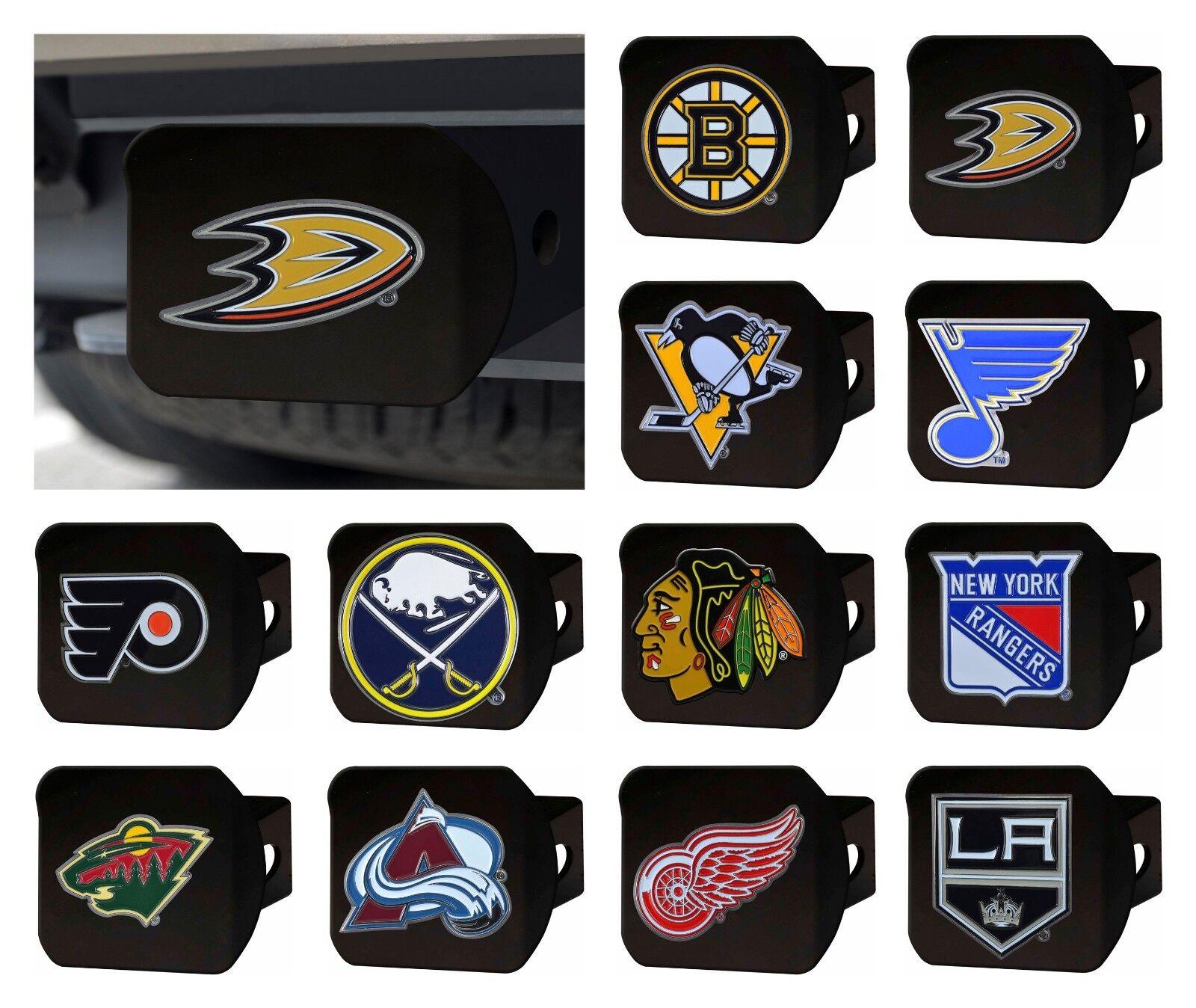 Fan Apparel & Souvenirs Hockey-NHL Minnesota Wild Color Metal Hitch Cover Black 3.4x4