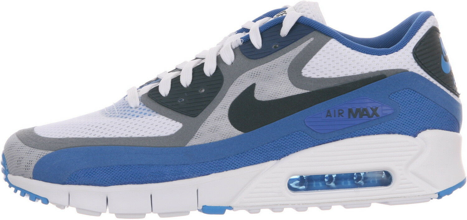 Men Nike Air Max 90 BR Gr:40,5 Neu Sneaker 95 95 Sneaker 97 NZ R4 Blau Premium One 1 US:7,5 3d39e4