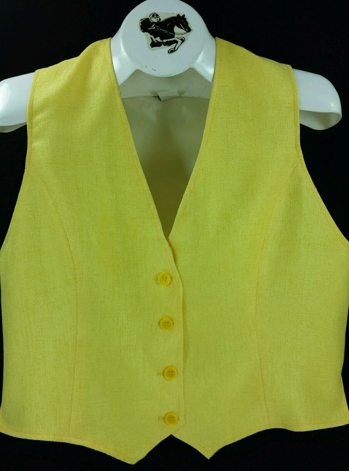Reed Hill Ladies Saddleseat Vest  LIGHT YELLOW Polyester Blend  best choice