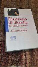 Dizionario di filosofia / Nicola Abbagnano Tea (A5 952)