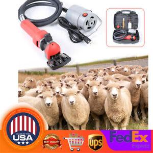 Electric Flexible Shaft Sheep Goat Shearing Machine Wool Clipper Shear Cutter