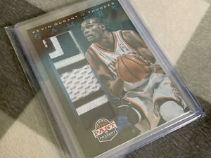 Panini-Basketball-KEVIN-DURANT-8-8-Memorabilia-GAMERS-Game-Worn-Material-Card