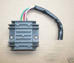 TRIUMPH-T100-6-VOLT-DC-REGULATOR-RECTIFIER-WILL-WORK-POSITIVE-OR-NEGATIVE-B702