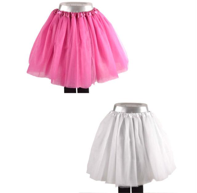 Tütü Tutu  XS bis XXL Ballettrock 10 Lagen Petticoat Ballettkleid Tüll Rock Neu