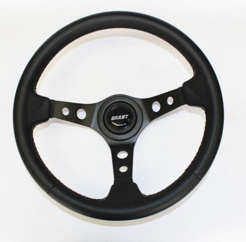 70-77 Fury Scamp Duster Cuda Road Runner Black Carbon Look Steering wheel 13 3//4