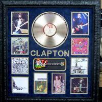 Authentic Eric Clapton Signature With Gold Album Lot 1899641