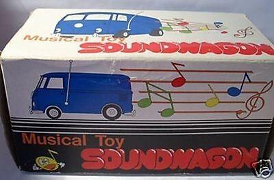 Blechspielzeug Leere Schachtel !!!! Aus Dem Ausland Importiert Repro Box Soundwagon Empty Box !!! Spielzeug