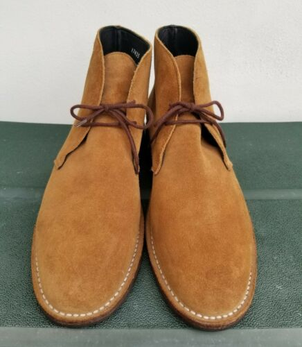 Thursday Boot Co. Honey Suede Scout Chukka ankle B