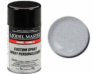 Details About Testors Model Master Automotive Silver Glitter Enamel Spray Paint Can 3 Oz 2984