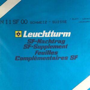 2019 Nouveau Style Leuchtturm Sf Supplémentaire Suisse Suisse L'année 2000-afficher Le Titre D'origine Produire Un Effet Vers Une Vision Claire